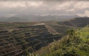 aerial of calibre mining el limon mine