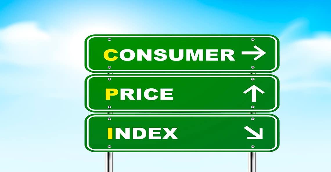 consumer price index sign