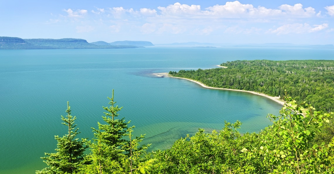 Lake Superior in Northern Ontario
