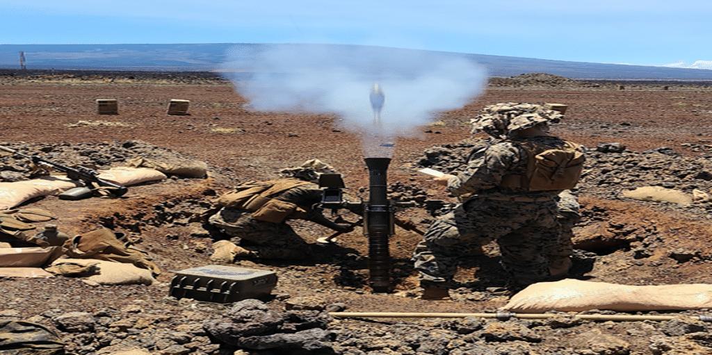 TASCS IFM Mortar in action