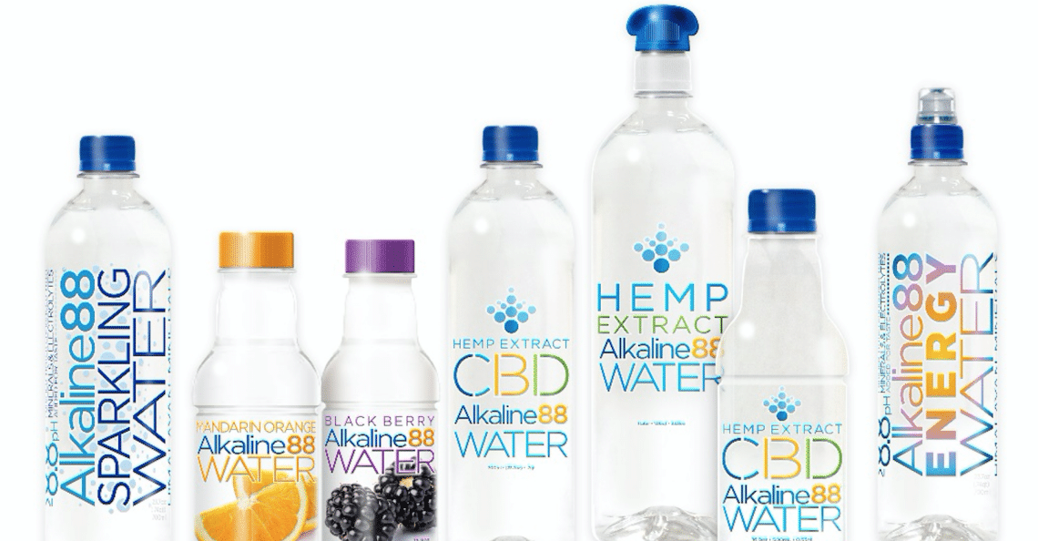 The Alkaline Water Company news release