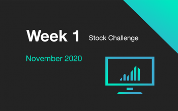 Cover for Week 1 of November 2020 Stock Challenge