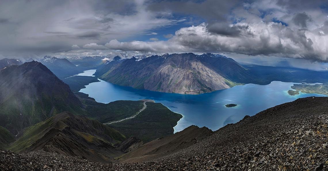 Yukon Territory mountain view