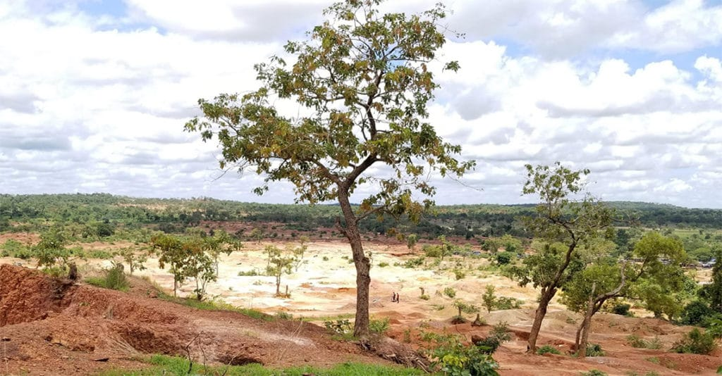 african gold's kobada gold project