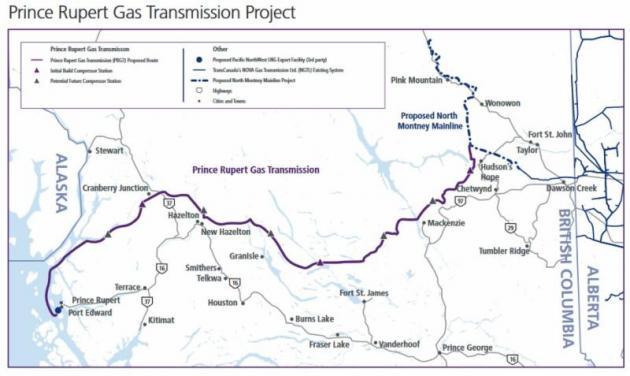 Prince Rupert Natural Gas Transmission Project