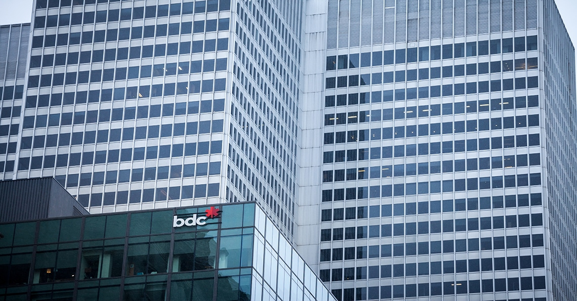 BDC headquarters in downtown Montreal