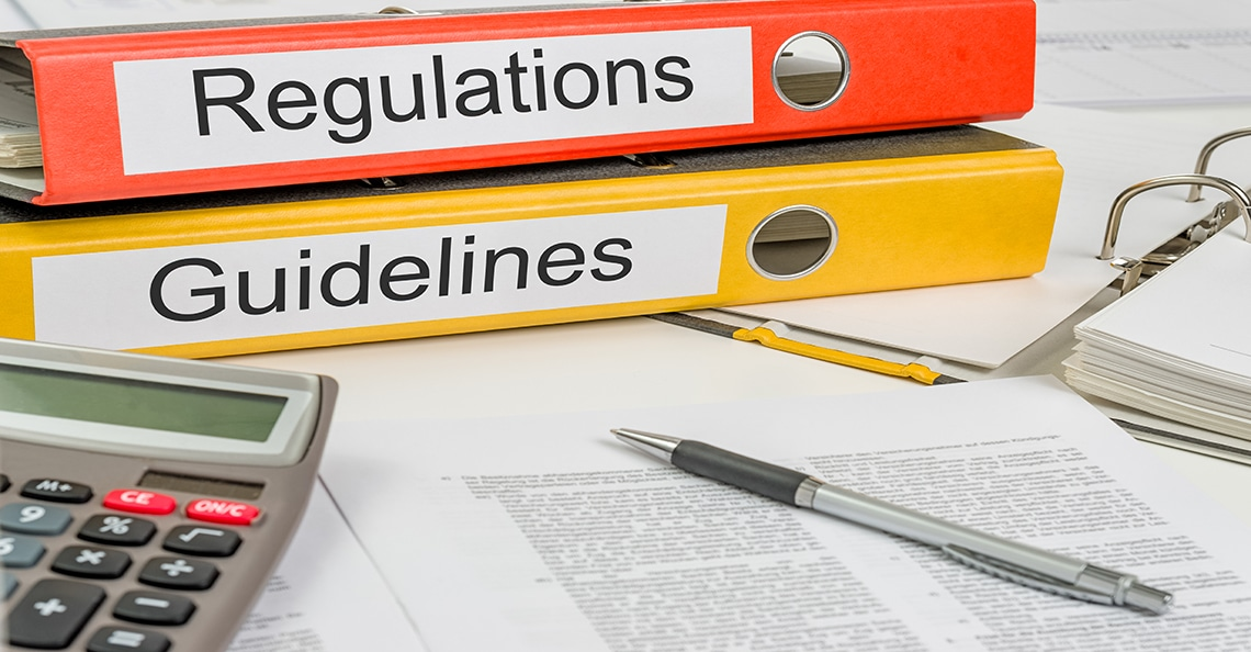 binder of regulations and guidelines