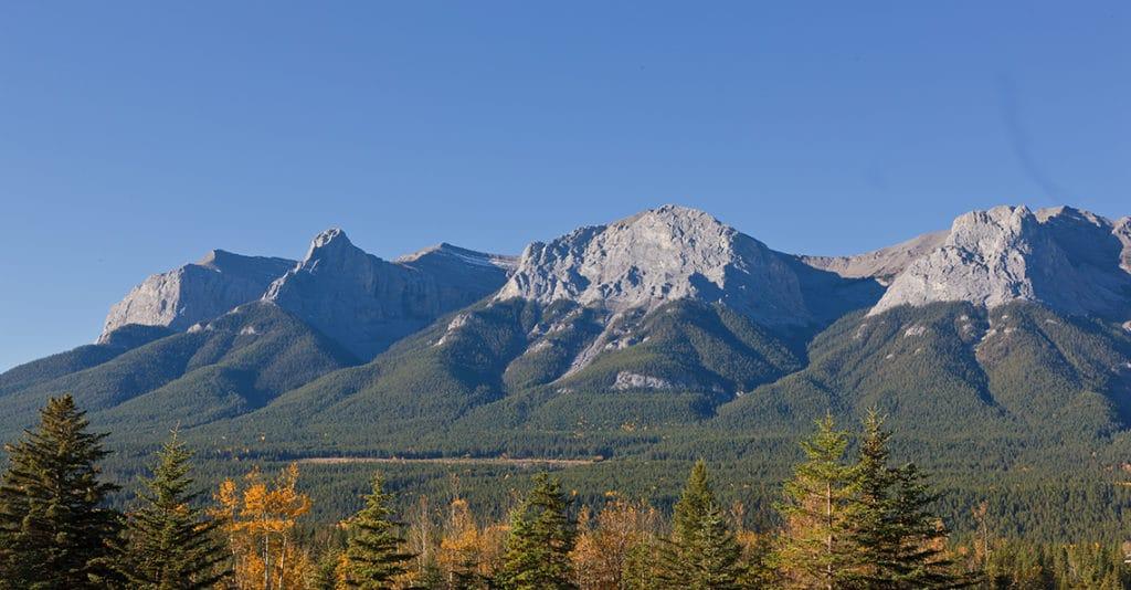 British Columbia mountain range