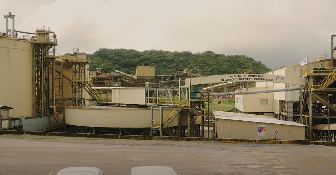 calibre mining processing plant