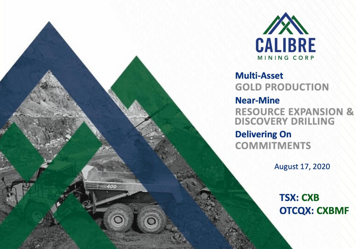 Calibre Mining's Investor Presentation