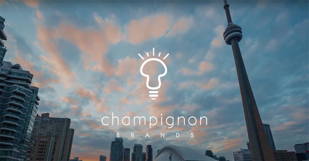 champignon brands on toronto skyline