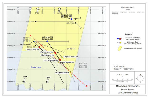Figure 1 - Super G Drilling Plan Map