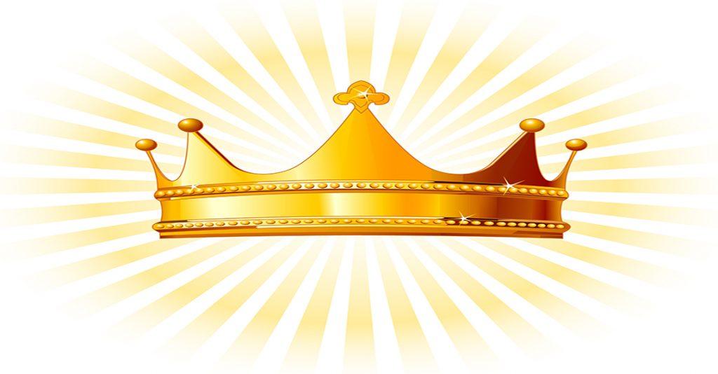 royal crown shining