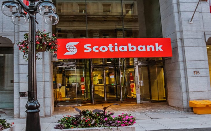 exterior of a Scotiabank