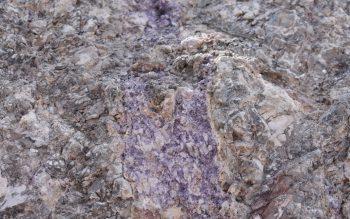 fluospar in rock
