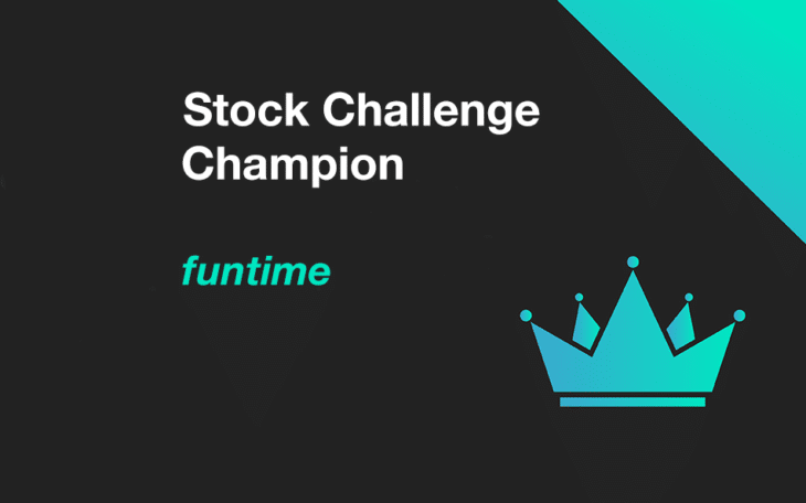 Funtime is the April 2020 Stock Challenge Champion