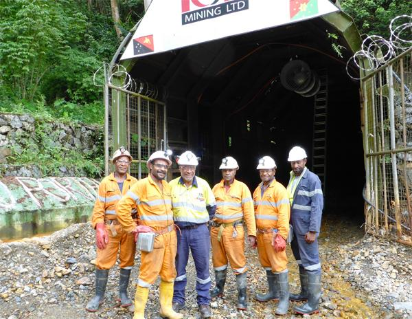 K92 Mining workers