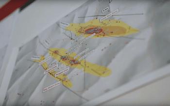 map of klondike gold's lone star zone