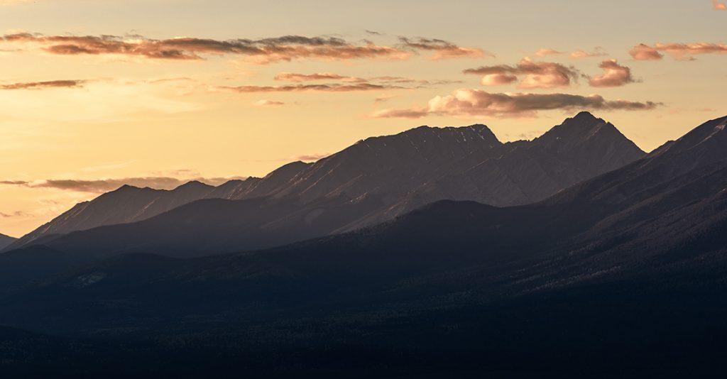 kootenay mountain range