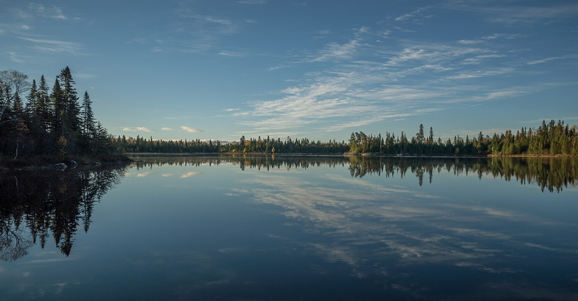 a lake in northern Ontario