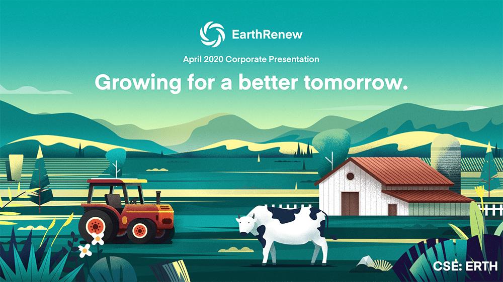EarthRenew corporate presentation cover