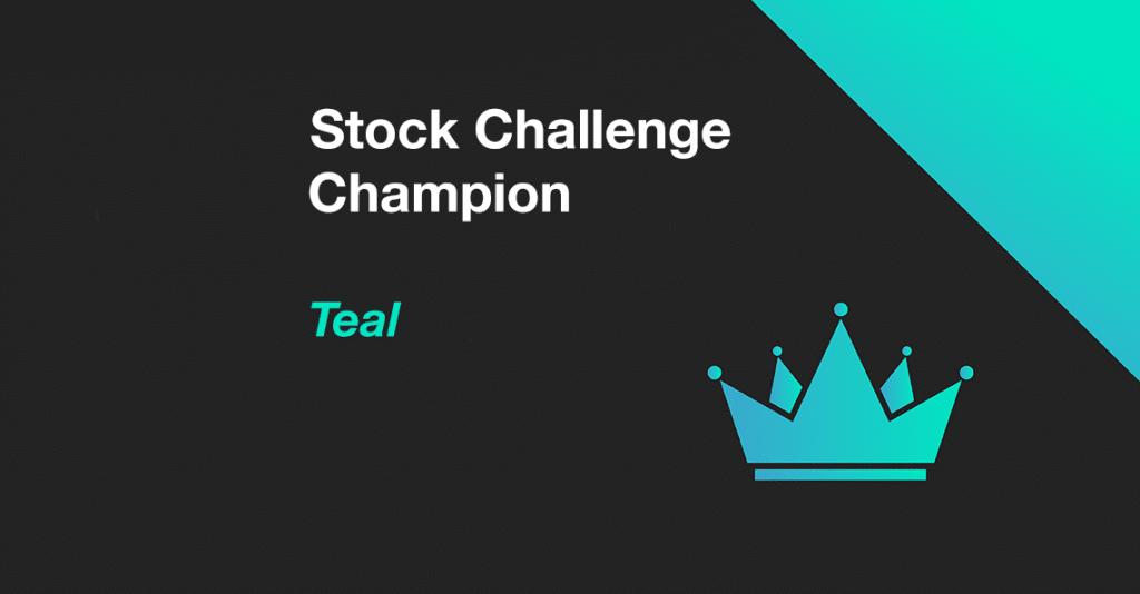 Member Teal wins December 2020 Stock Challenge