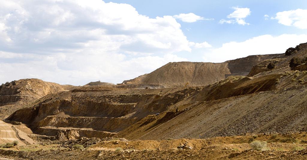 Strip mine in Nevada