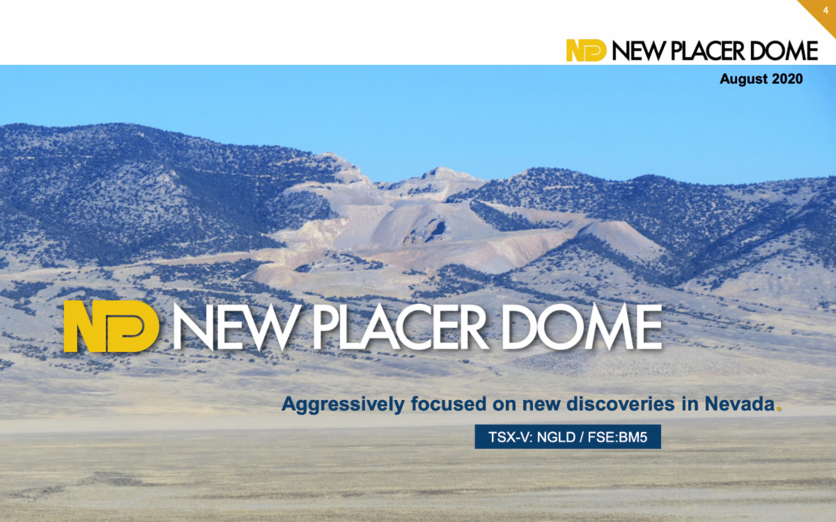 New Placer Dome Gold's Corporate Presentation