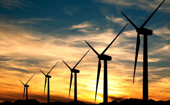 Wind farms use Electric Motors