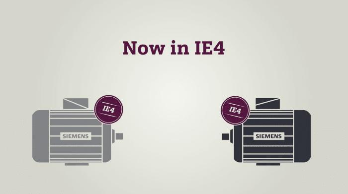 Siemens IE4 video