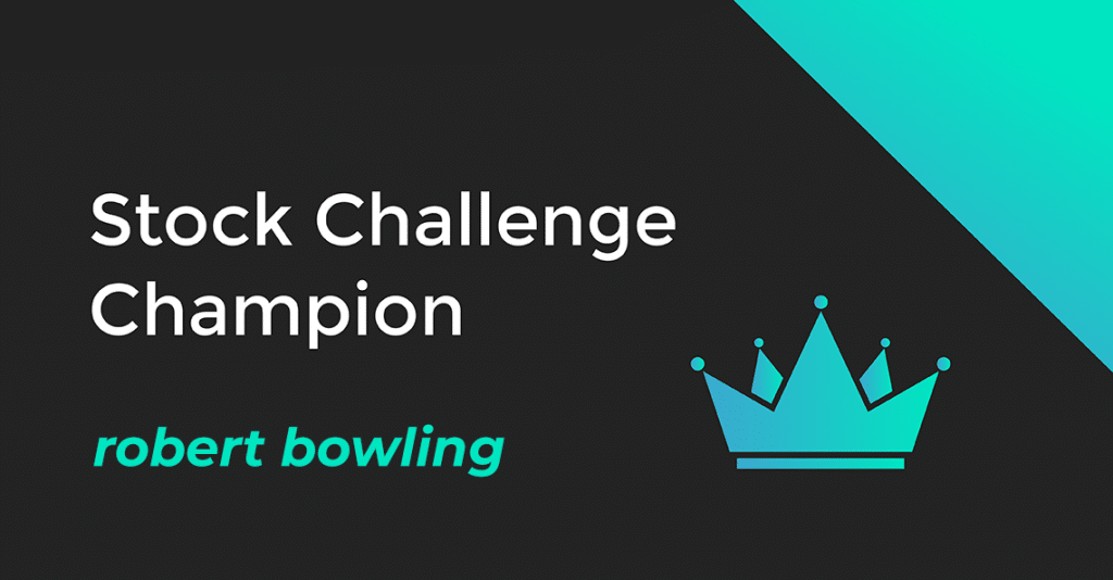 robert bowling is the october 2019 stock challenge champion