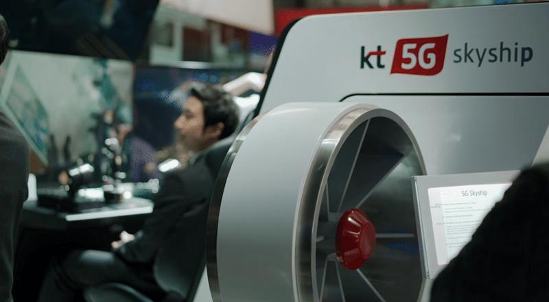 Kt 5G SkyShip