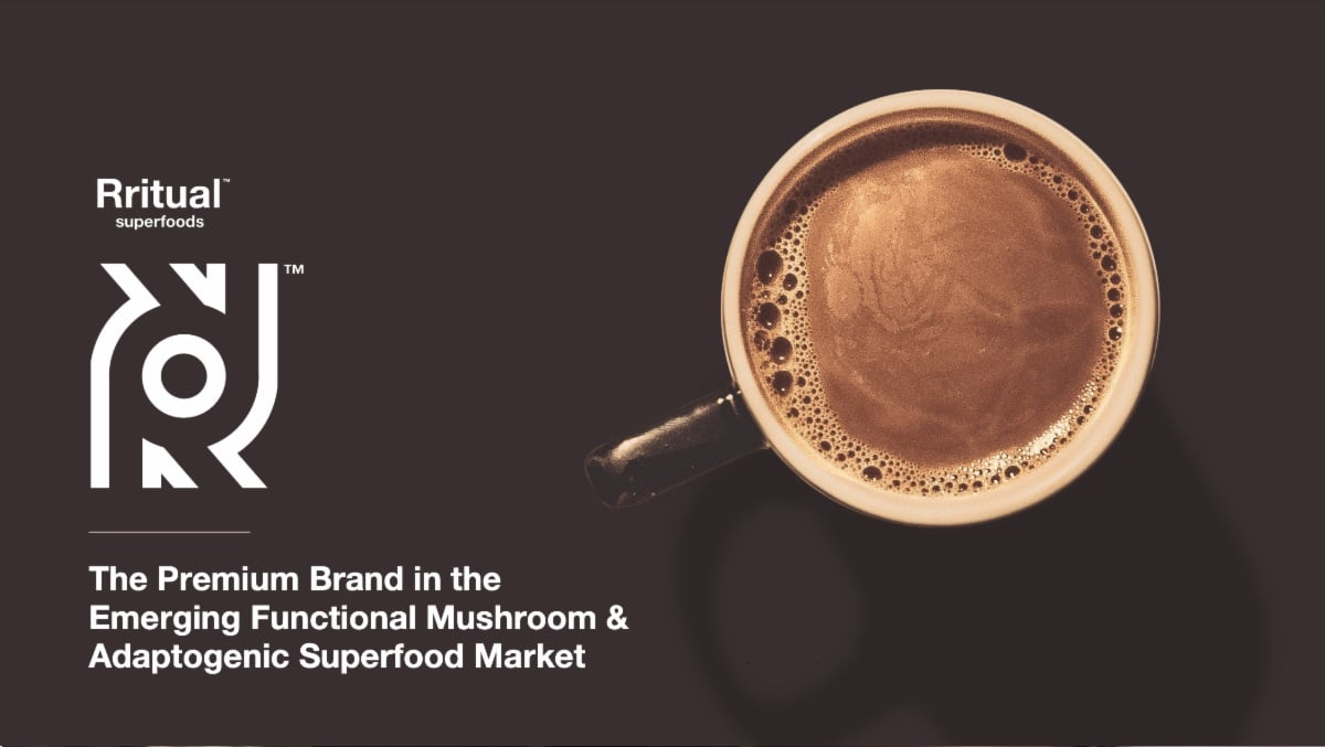 Cover for Rritual Superfoods Corporate Presentation