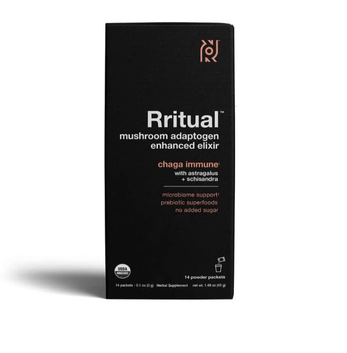 Rritual Chaga Immune product packaging