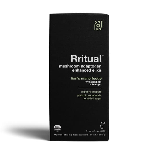 Rritual Lion's Mane product packaging
