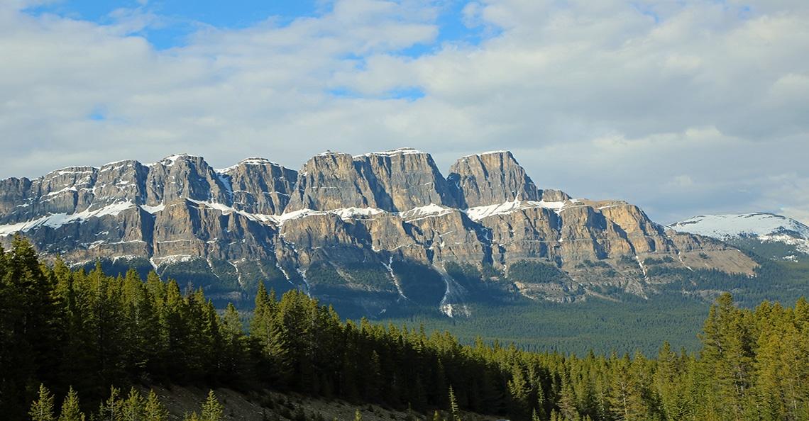 scenic view of the kootenay region