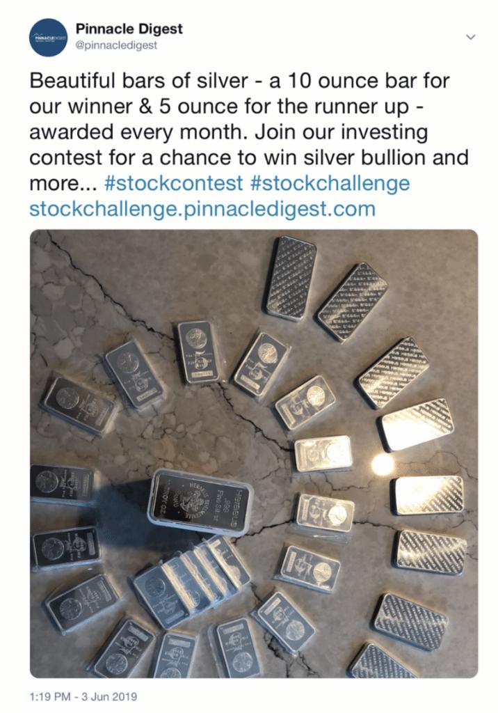 Win silver bars