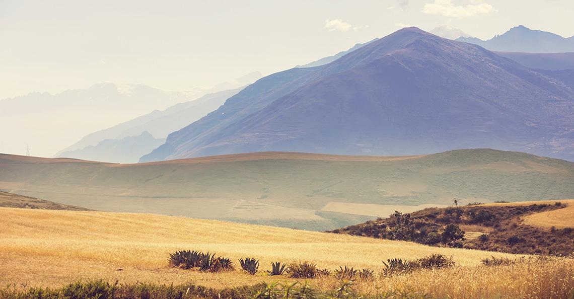 Southern Peru landscape