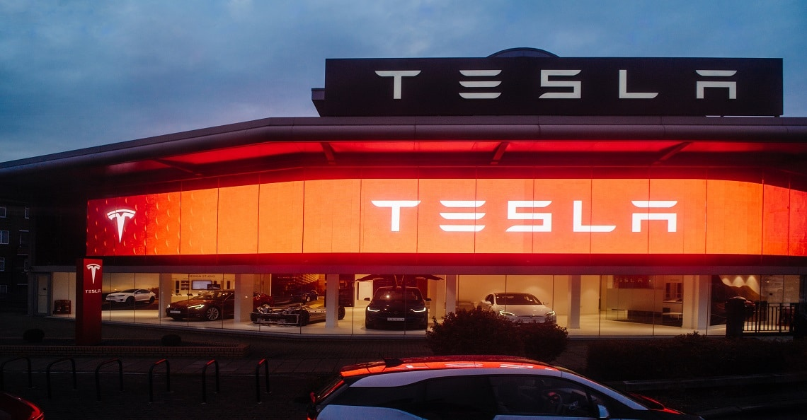 tesla stock driving the markets lower