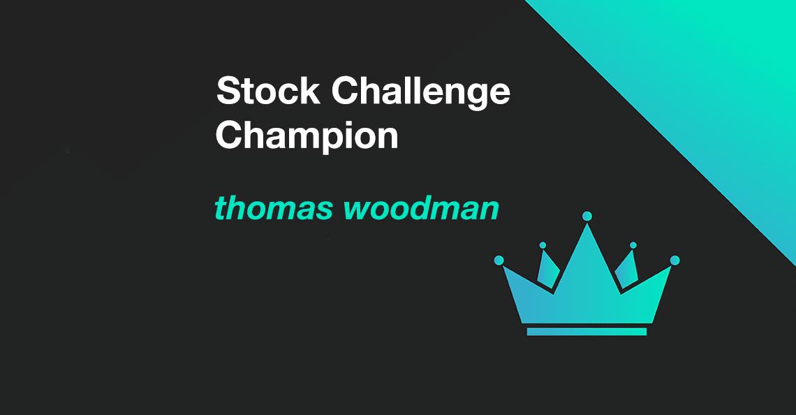 Thomas Woodman wins October 2020 Stock Challenge