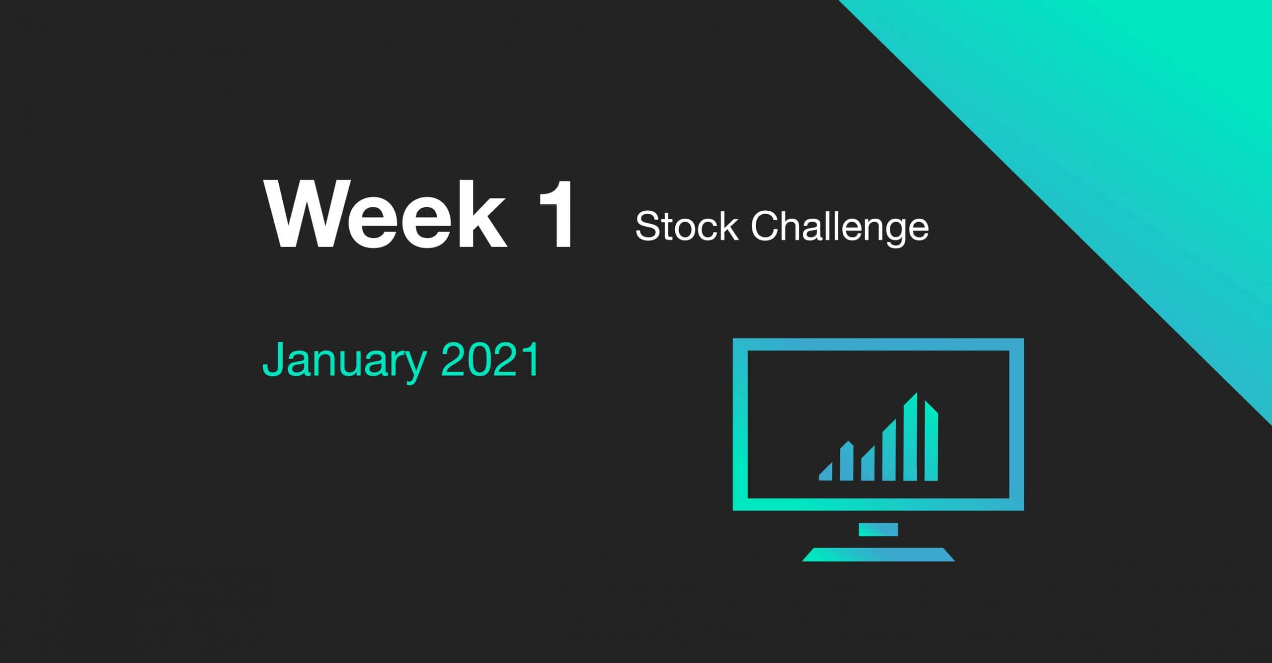 week 1 january 2021 stock challenge cover