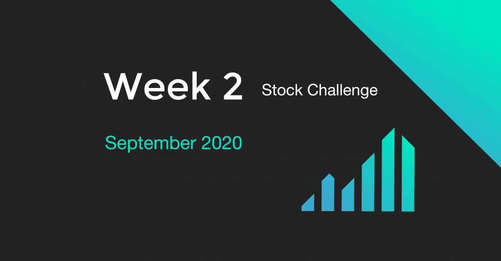 Week 2 of the September 2020 Stock Challenge
