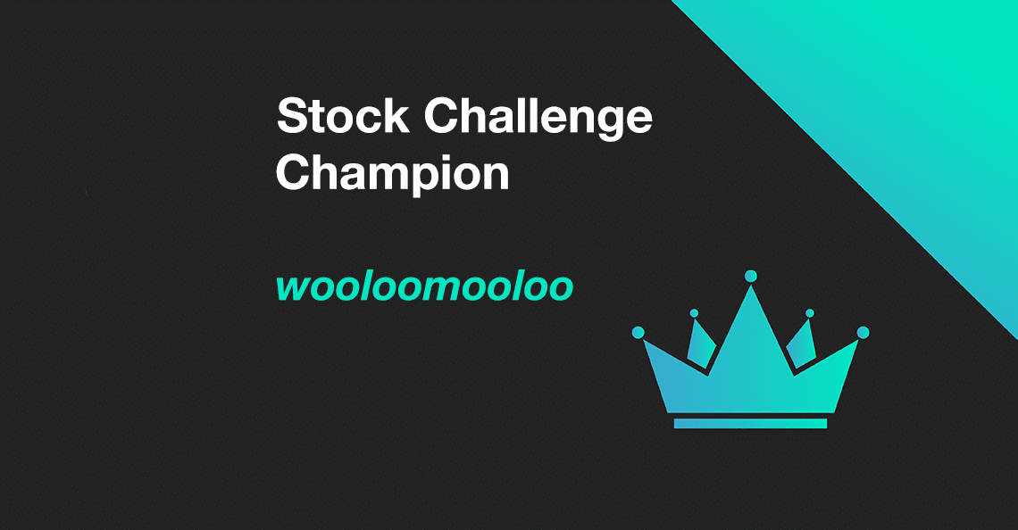 wooloomooloo is the January 2020 Stock Challenge Champion
