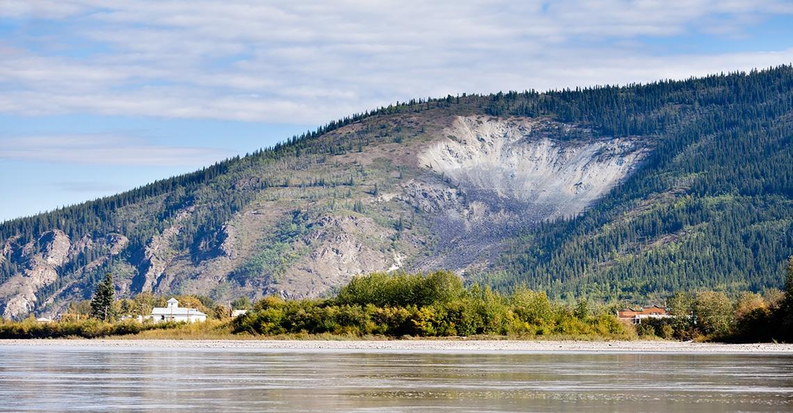 Yukon mining near Dawson City